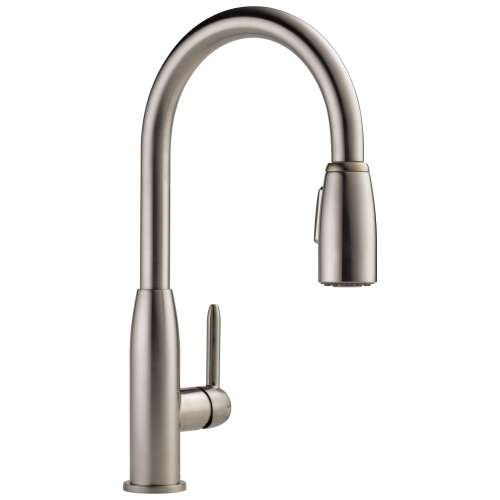 Peerless Apex 1.8 GPM 1-Handle Kitchen Faucet In Stainless
