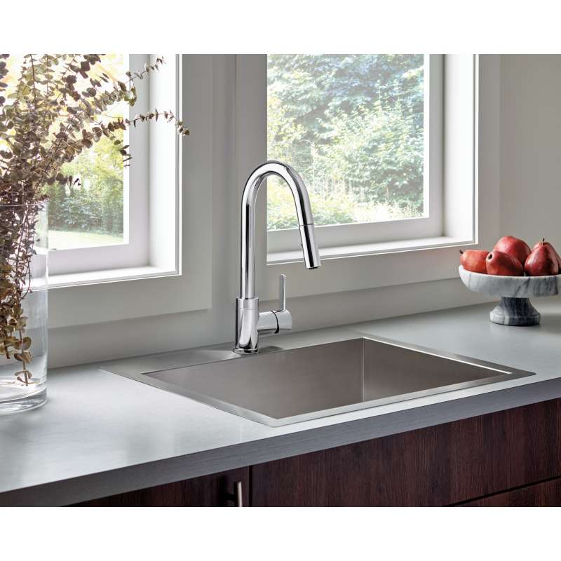 Buy Peerless Apex 1 8 Gpm 1 Handle Kitchen Faucet In Chrome In