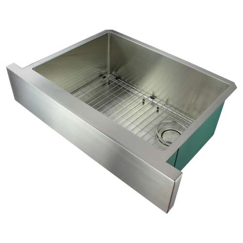 River's Edge 16 Gauge Stainless Steel 30-in Apron Front Kitchen Sink