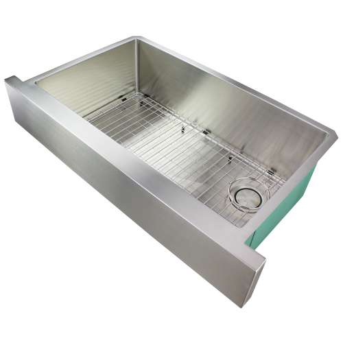 River's Edge 16 Gauge Stainless Steel 36-in Apron Front Kitchen Sink