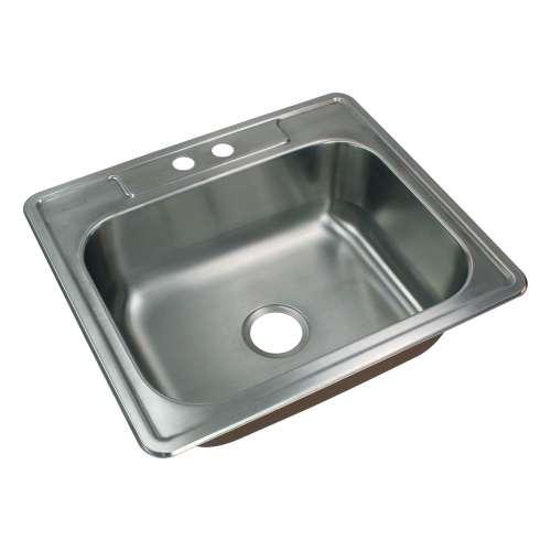 River's Edge 18 Gauge Stainless Steel 22-in Drop-in Kitchen Sink