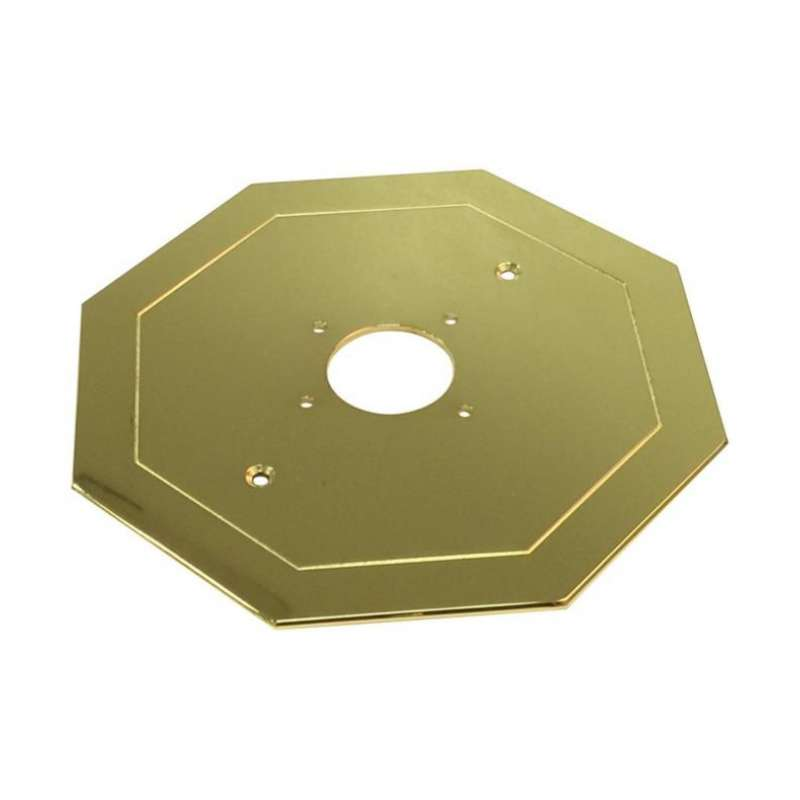 Hexagonal Faceplate for Concealed Thermostatic Mixer with Volume Control