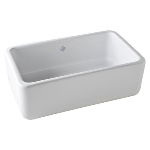 Rohl Shaws 30-In Fireclay Farmhouse Kitchen Sink
