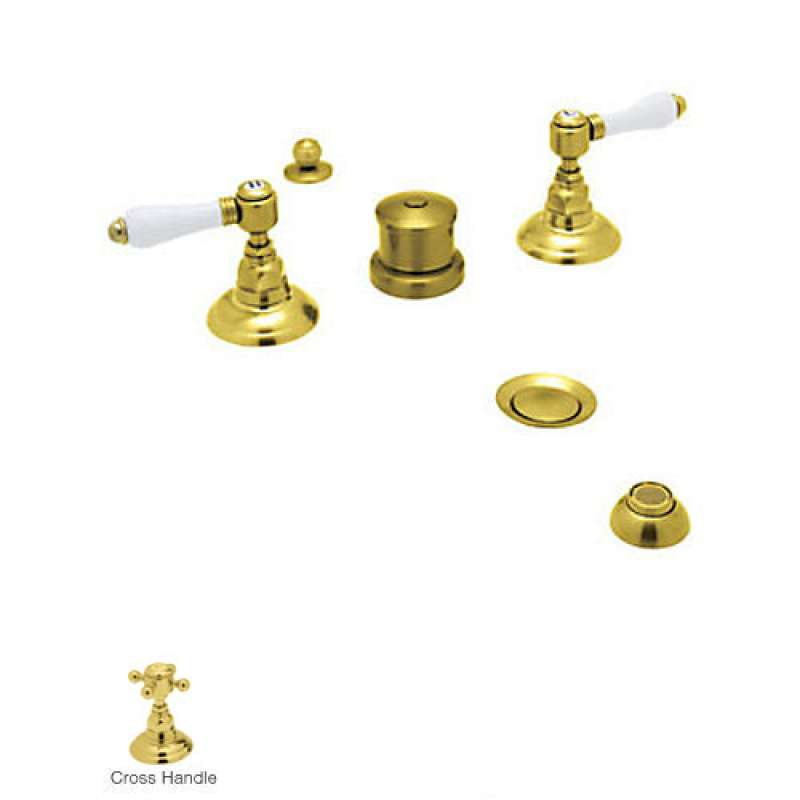 Rohl Country Bath Widespread Bidet Faucet