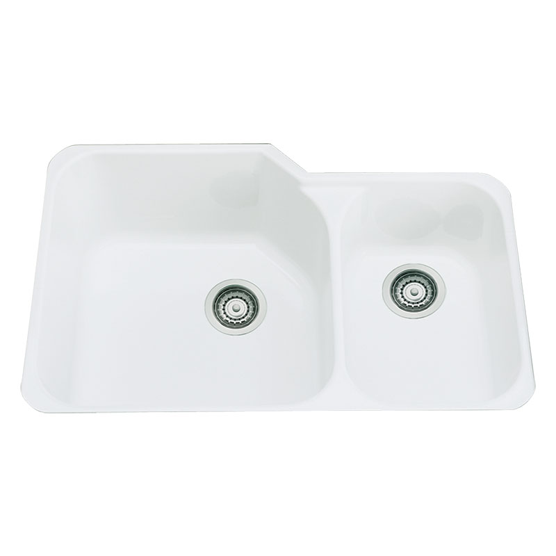 fireclay undermount kitchen sink rohl allia 6337 00 7205