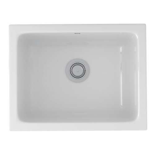 Rohl Allia Fireclay Undermount Kitchen Sink - In Multiple Colors