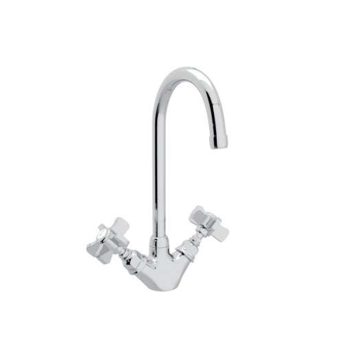 Rohl Italian Kitchen San Julio Bar/Food Prep Faucet With Double-Spoke Handle