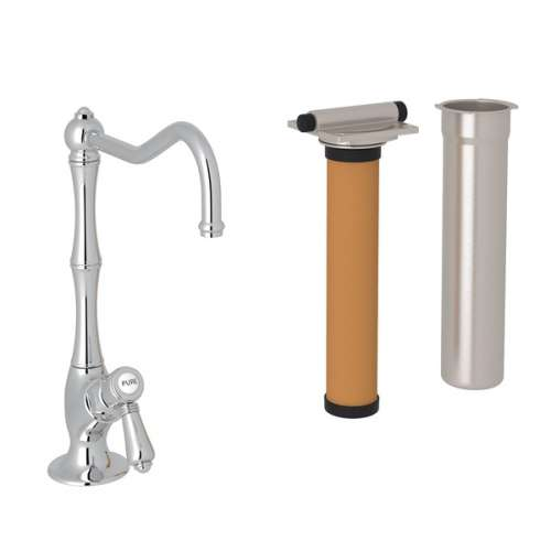Rohl Italian Kitchen Acqui Filtering Faucet With Single-Lever Handle