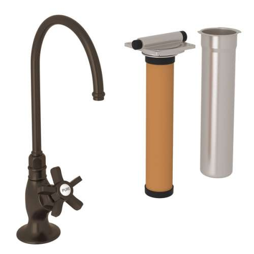 Rohl Italian Kitchen San Julio Filtering Faucet With Single-Spoke Handle