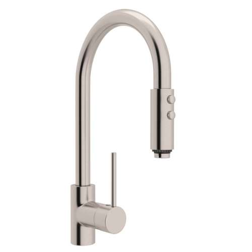 Rohl Pirellone Pull-Down Faucet With Single-Lever Handle