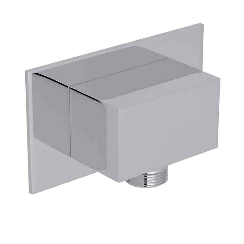 Modern Square Handshower Wall Outlet - in Multiple Colors