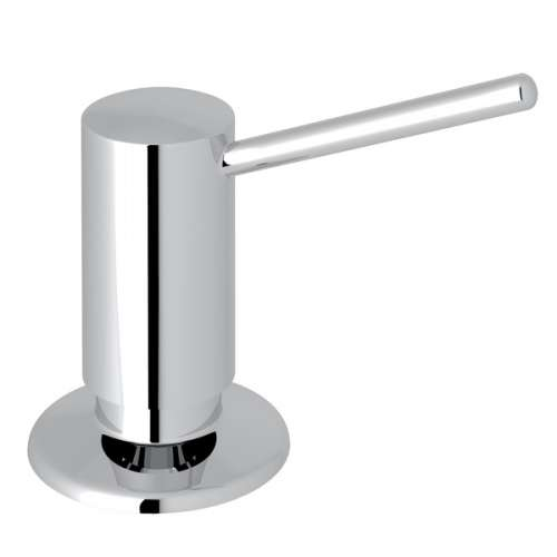 Rohl De Lux II Brass Kitchen Soap and Lotion Dispenser, In Polished Chrome