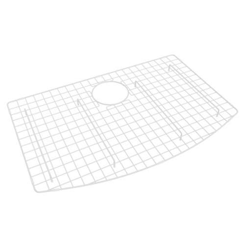 Rohl Stainless Steel Kitchen Sink Grid, In White