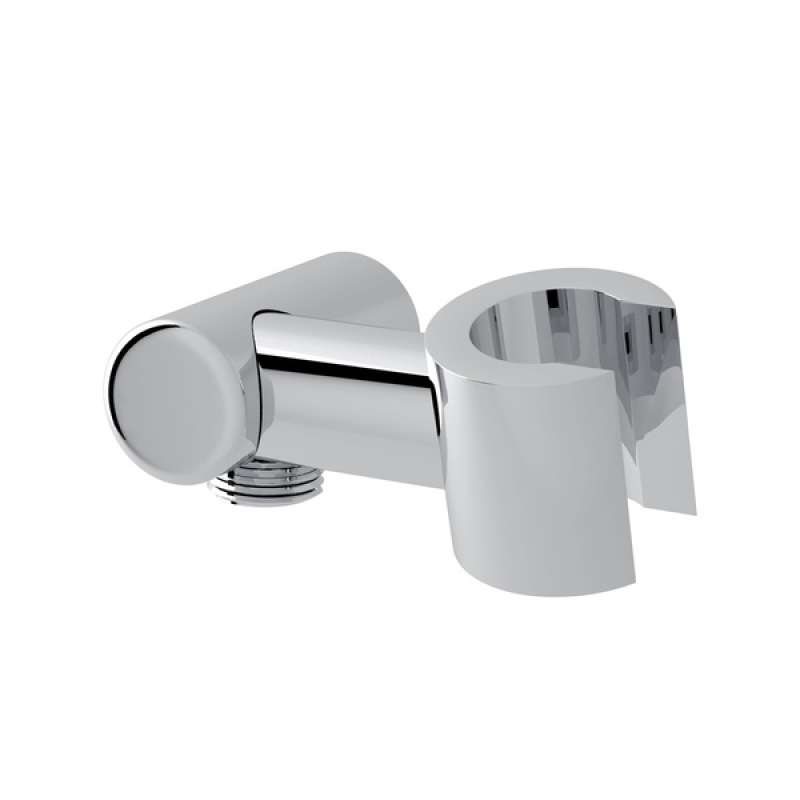 Modern Handshower Holder with Outlet for Shower Arm Connection - in Multiple Colors