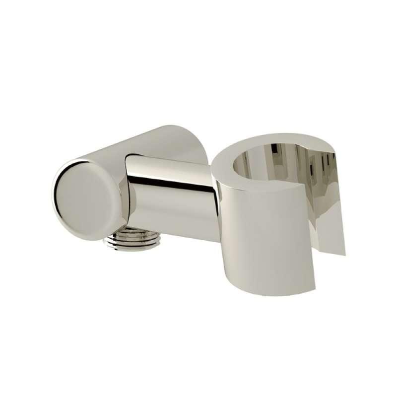 Modern Handshower Holder with Outlet for Shower Arm Connection