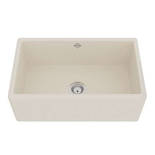 Rohl Shaws Fireclay Apron Front Kitchen Sink - In Multiple Colors