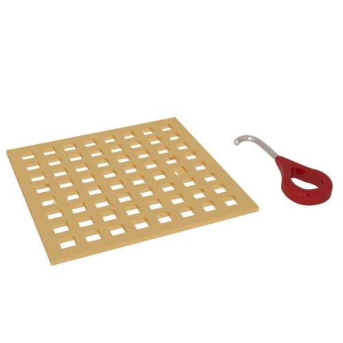 Rohl 5.16-in Brass Drain Cover