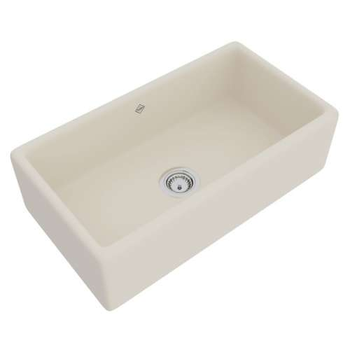 Rohl Shaws Fireclay Apron Front Kitchen Sink