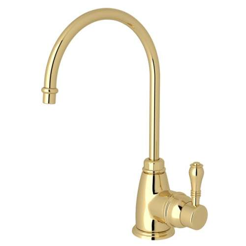 Rohl Italian Kitchen Instant Hot and Cold Water Dispensers With Single-Lever Handle