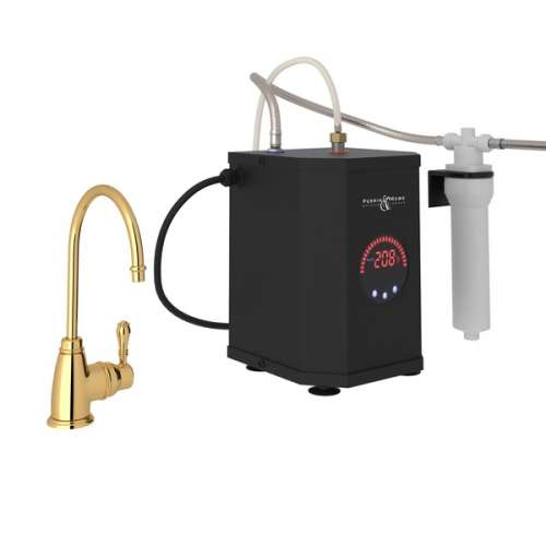 Rohl Italian Kitchen Instant Hot Dispenser With Single-Lever Handle