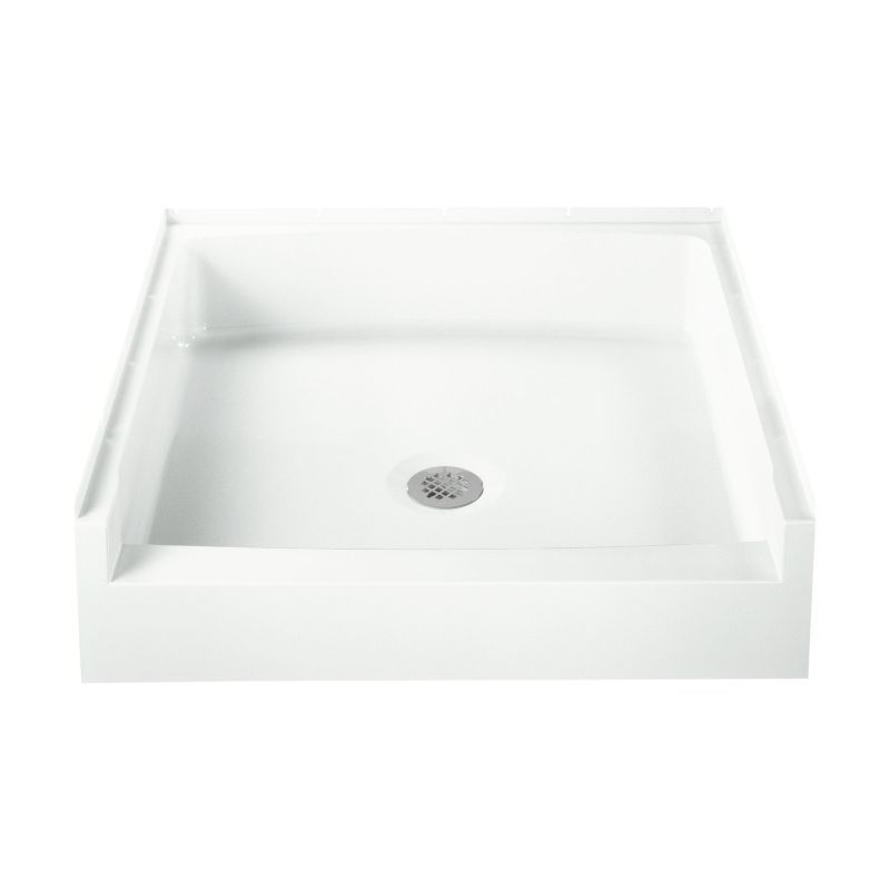 Buy Sterling Advantage Vikrell 34-In X 32-In Shower Base With Center ...