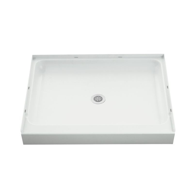 Sterling Ensemble Vikrell 42-In X 34-In Shower Base With Center Drain