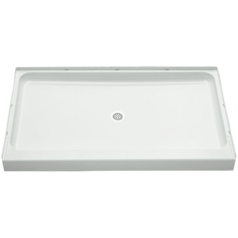 Sterling Ensemble Vikrell 60-In X 34-In Shower Base With Center Drain