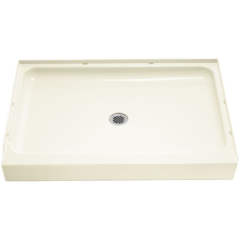 Sterling Ensemble Vikrell 48-In X 34-In Shower Base With Center Drain