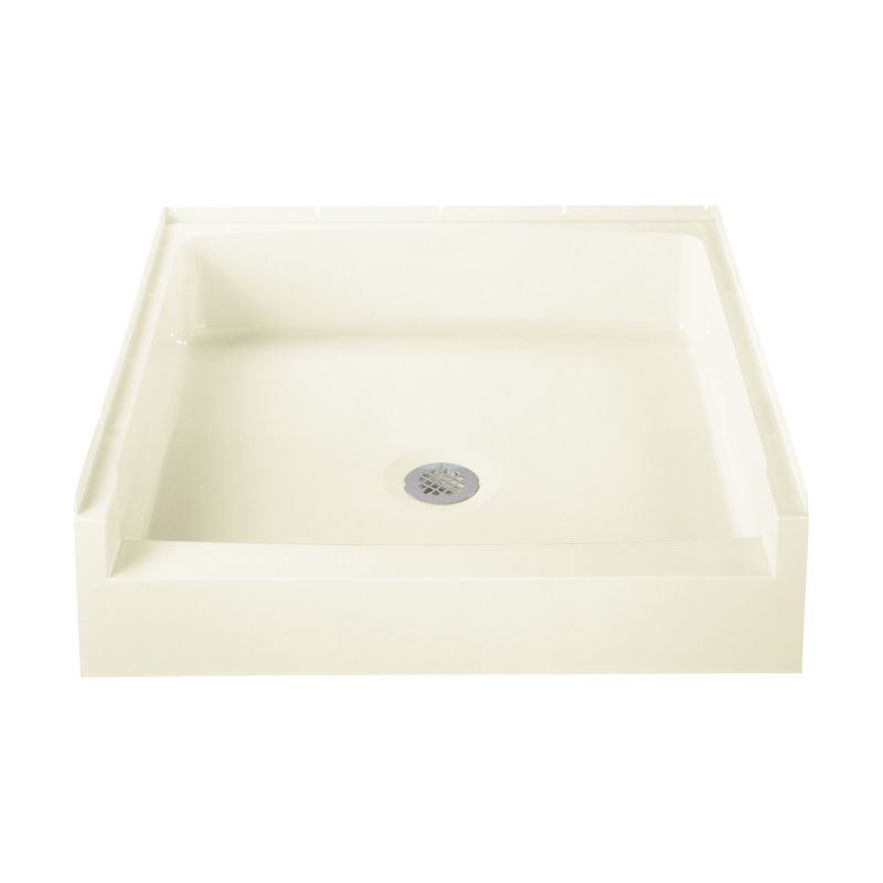 Sterling Advantage Vikrell 34-In X 32-In Shower Base With Center Drain