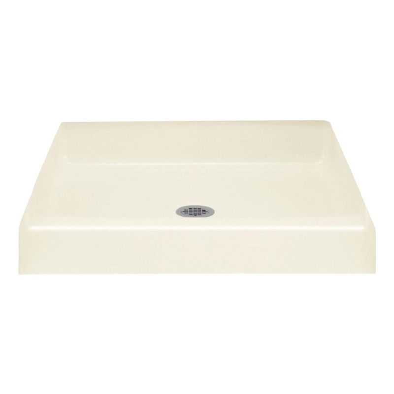 Sterling Advantage Vikrell 36-In X 34-In Shower Base With Center Drain