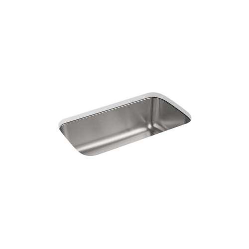 Sterling Carthage 32-in. Single Bowl Undermount 18 Gauge Stainless Steel Kitchen Sink