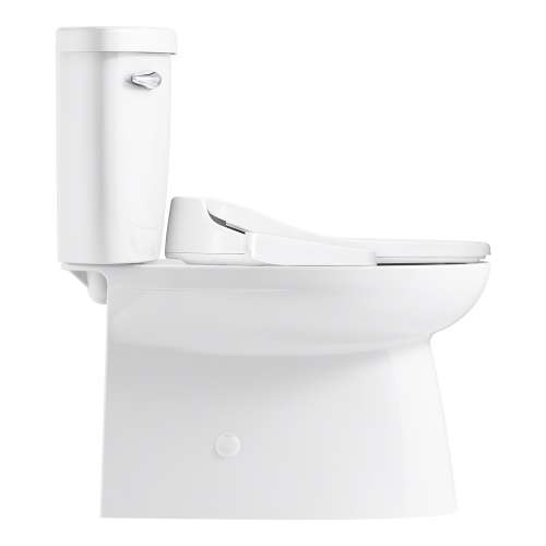 Novita Washlet + Brella Elongated Comfort-Height Skirted 2-Piece Toilet with ReadyLock Technology