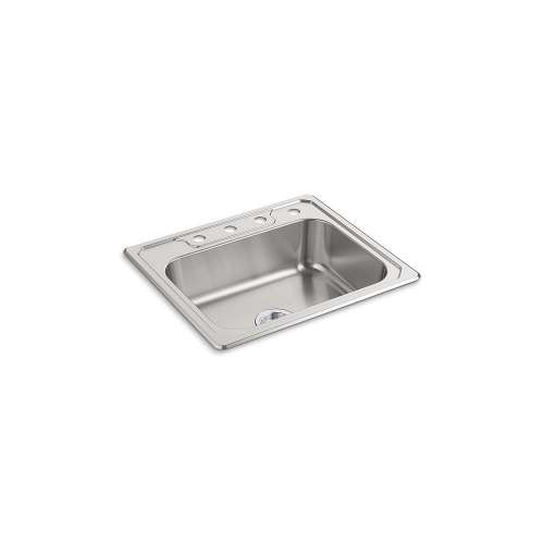 Sterling Middleton 25-in. Single Bowl Drop-in 20 Gauge Stainless Steel Kitchen Sink