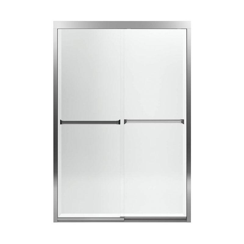 Sterling Meritor 42 62 To 47 In X 69 68 Frameless Sliding Alcove Shower Door