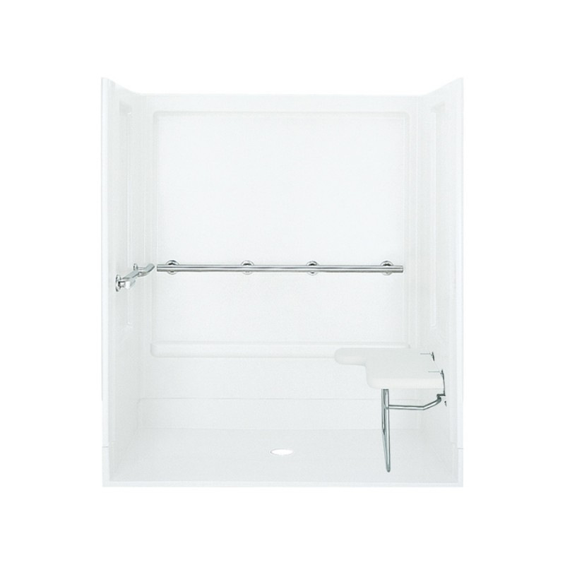 Buy Sterling Vikrell 63.25-In X 73.25-In Alcove Shower Wall And Base ...