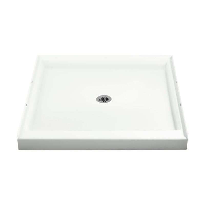 Sterling Ensemble Vikrell 42-In X 42-In Shower Base With Center Drain