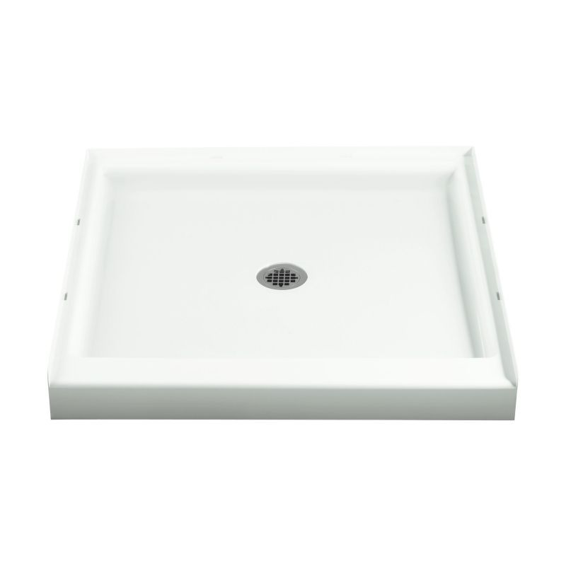 Sterling Ensemble Vikrell 36-In X 36-In Shower Base With Center Drain