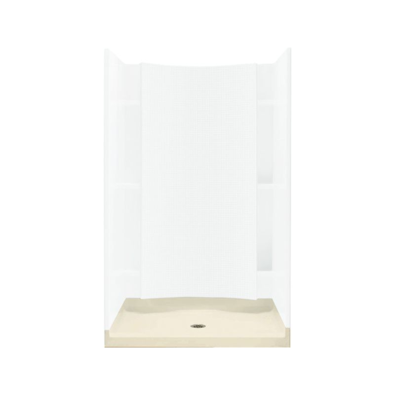 Buy Sterling Accord Vikrell 36-In X 36-In Shower Base With Center ...