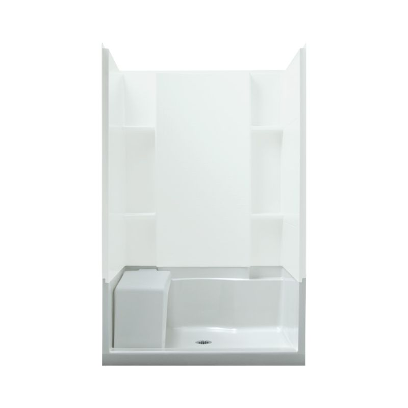 Buy Sterling Accord Vikrell 48-In X 36-In Shower Base With Center ...