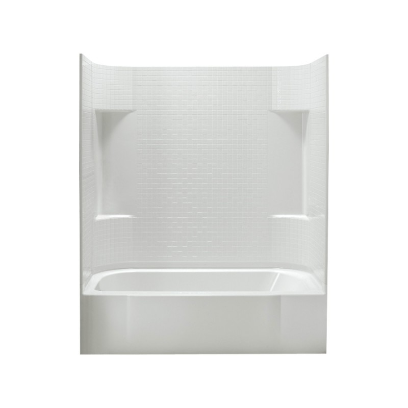 Buy Sterling Accord Vikrell 60.25-In X 30.5-In X 72-In Bathtub And ...