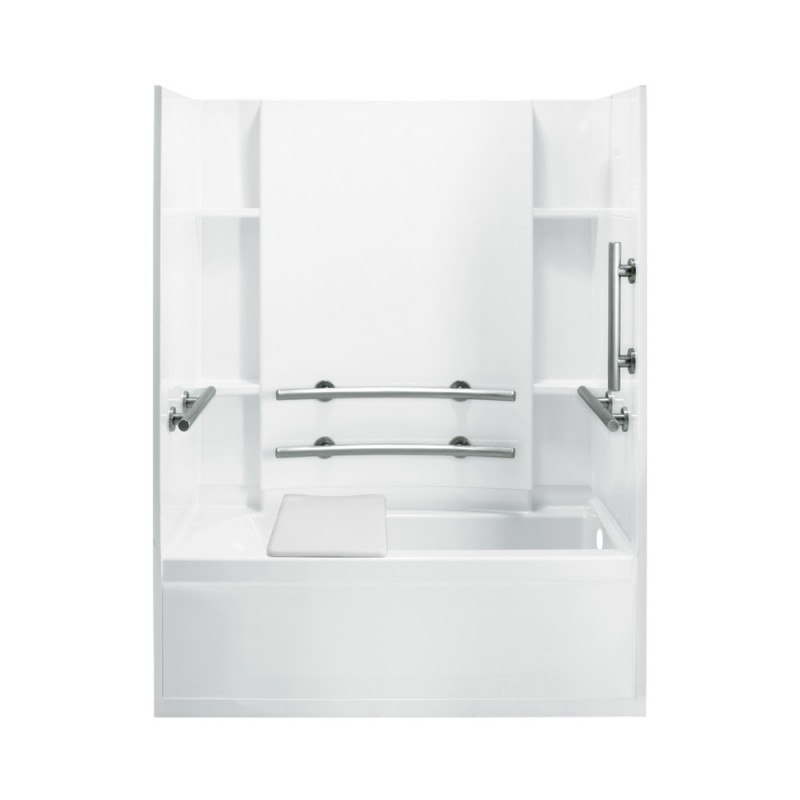 Buy Sterling Accord 60-In X 32-In X 74-In Bathtub And Shower Kit ...