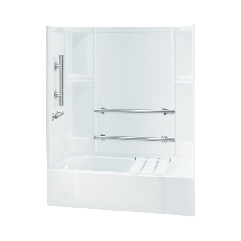 Buy Sterling Accord 60-In X 30-In X 72-In Bathtub And Shower Kit ...
