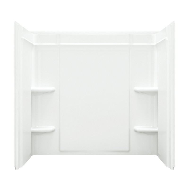 Sterling Ensemble Vikrell 31.25-In X 60-In X 55-In Bathtub Wall Surround