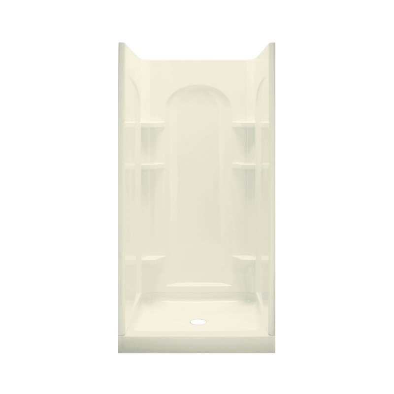 Buy Sterling Ensemble Vikrell 34-In X 75.75-In Alcove Wall And Base ...
