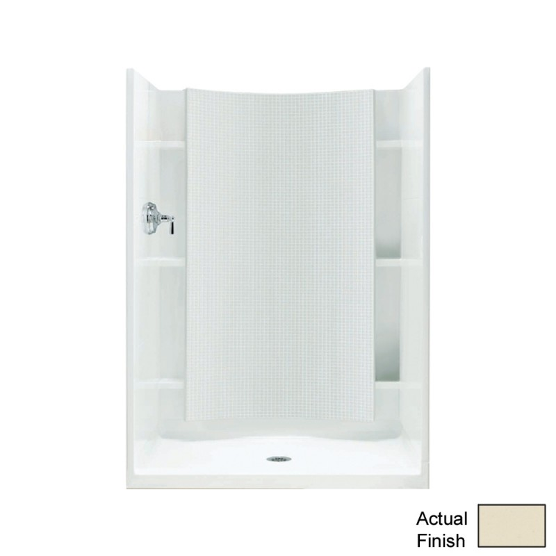 Sterling Accord Vikrell 36 In X 77 In Alcove Shower Base And Wall
