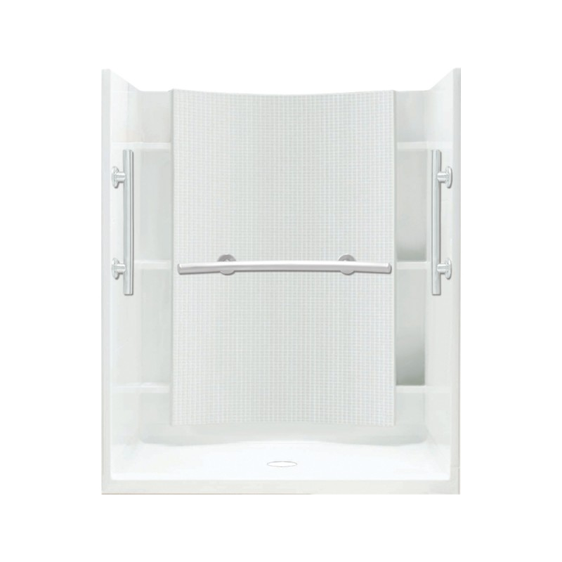 Buy Sterling Accord Vikrell 48-In X 75.75-In Shower Wall And Base ...