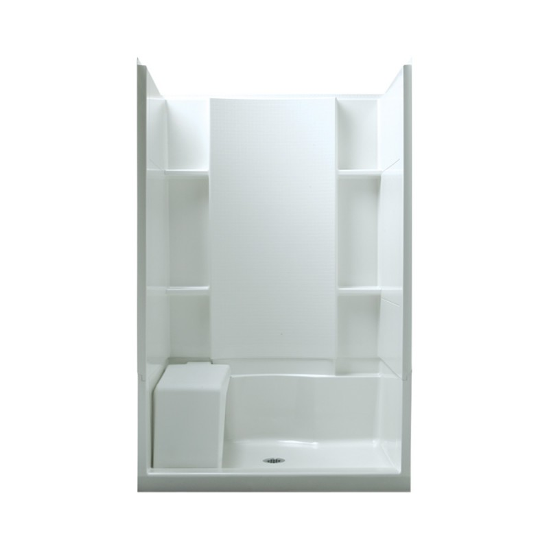 Sterling Store+ Vikrell 48-In X 74.75-In Alcove Shower Wall And Base Kit