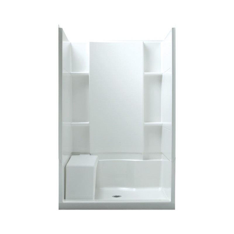 Buy Sterling Accord Vikrell 48-In X 74.75-In Alcove Shower Wall And ...