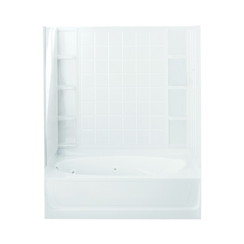 Buy Sterling Ensemble Vikrell 60.25-In Alcove Bathtub Online - Bath1.com