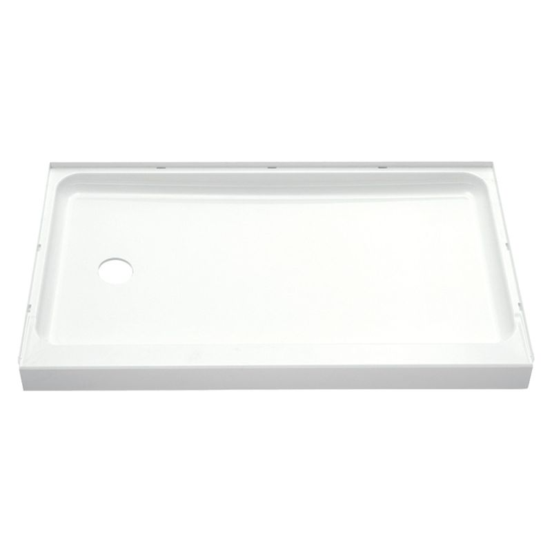 Buy Sterling Ensemble Vikrell 60-In X 30-In Shower Base With Left ...
